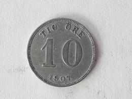 10 Öre Suède (Sweden) 1907 - Suède