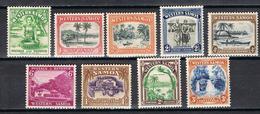 SAMOA 121-129** - Samoa