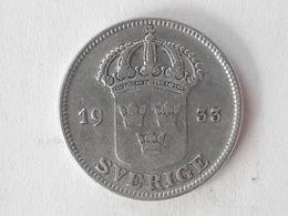 50 Öre Suède (Sweden) 1933 - Suède