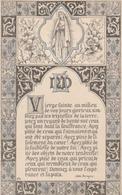 POITIERS : Carte De Deuil Double De Marie, Luce, Gabrielle LEVRIER, 42 Ans.(TTB) - Images Religieuses