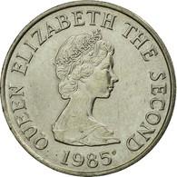 Monnaie, Jersey, Elizabeth II, 5 Pence, 1985, TTB, Copper-nickel, KM:56.1 - Jersey