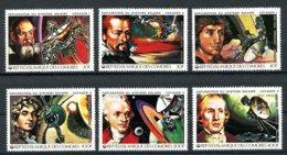 Comoros, Comores, 1979, Space, Solar System, Galilei, Copernicus, MNH, Michel 503-508A - Comores (1975-...)