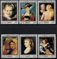 Comoros, Comores, 1977, Rubens, Paintings, Art, MNH, Michel 353-358 - Comores (1975-...)