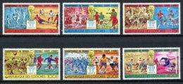 Comoros, Comores, 1978, Soccer World Cup Argentina, Football, MNH, Michel 384-389A - Comores (1975-...)