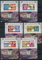Comoros, Comores, 1978, Soccer World Cup Argentina, Football, MNH Sheets, Michel 384-389A - Comores (1975-...)