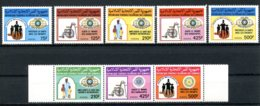 Comoros, Comores, 1988, Charity, Kiwanis, Lions, Rotary, MNH, Michel 817-824 - Comoros