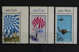 DDR, MiNr. 1193-1195, Ecken Rechts Oben, Gestempelt - [6] Democratic Republic