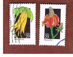 STATI UNITI (U.S.A.) - SG 2695.2721  - 1992   WILD FLOWERS  -    USED - Used Stamps