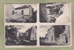 CHENAY  Maisons Bombardées - France