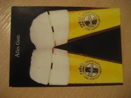 Alles Gute WARSTEINER Post Card GERMANY Bier Beer Pint Biere Cerveza Brewery - Publicidad