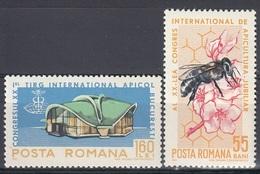 ROMANIA 2425-2426,unused,bees - Honeybees