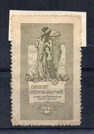 Buenos Aires - 1910 -  ETICHETTA - ERINNOFILO - Esposizione Internazionale D'Arte Del Centenario - (FDC14625) - Erinnophilie