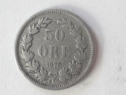 50 Öre Suède (Sweden) 1875 - Suède