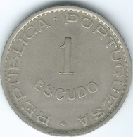 Cape Verde - Portuguese - 1949 - 1 Escudo - KM7 - Cap Vert
