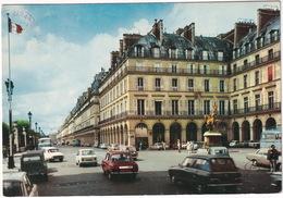 Paris: RENAULT 10, CITROËN AMI BREAK, 2CV, DS, SIMCA 1000, VW 1500 VARIANT - Place Des Pyramides - Toerisme