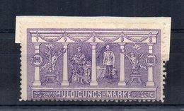 Austria - 1908 -  ETICHETTA - ERINNOFILO - Huldigungs Marke - (FDC14626) - Erinnophilie
