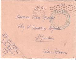 Loire Atlantique :- NANTES DEPOT DES P.G.A. N°46 343+ COMPAGNIE DE GARDE Quartier RICHEMONT - Postmark Collection (Covers)