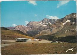 Gavarnie: AUTOBUS, SIMCA 1000, RENAULT 16, 6, CITROË AMI BREAK, DS - Le Port De Boucharo 2252 M., Crépuscule Astazou - Toerisme