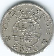Cape Verde - Portuguese - 1967 - 2½ Escudos - KM9 - Cabo Verde