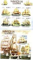 MOZAMBIQUE 2011 / Superbe Série 6 Valeurs + Bloc MNH - Barcos