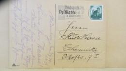 """DR: Fern-Kte Mit 6 Pf Nürnberger Burg Mit MWst.""""Reichsparteitag NSDAP NÜRNBERG Vom 5. Mit 10. Sept. 1934"""" 7.9.34 Knr:546 - Deutschland"""