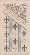 """""""Dieu Sauve La France"""" Carte De Première Communion De Robert MOUFFLET, Chapelle Du Lycée D'Angoulême. - Images Religieuses"""