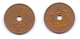Rhodesia & Nyasaland 1 Penny 1963 - Rhodésie