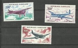 Gabon Poste Aérienne N°52 à 54 Neufs** Cote 23.90 Euros - Gabon