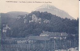 Voreppe- Les écoles, Le Chateau Des Buissières Et Le Grand Ratz - Voreppe