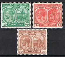 ST KIITS-NEVIS YT 59*-60*-62A* - St.Kitts-et-Nevis ( 1983-...)