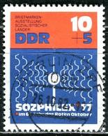 DDR - Mi 2170 - OO Gestempelt (A) - 10+5Pf      SOZPHILEX'77 - DDR