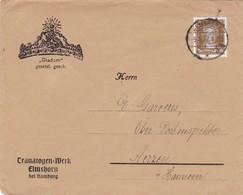 Brief Aus Elmshorn  1927 - Deutschland