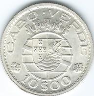 Cape Verde - Portuguese - 1953 - 10 Escudos - KM10 UNC - Cape Verde