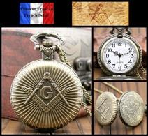 Montre Gousset NEUVE ! ( Pocket Watch ) - Franc-maçonnerie Masonic Freemason - Montres Gousset