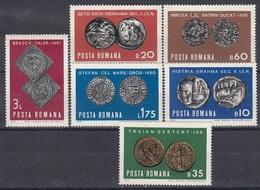 ROMANIA 2850-2855,unused - Archaeology