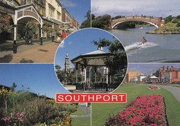 Postcard Southport Multiview [ John Hinde ] My Ref  B23433 - Southport
