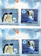 JORDANIE 2011 / Superbe Série 2 Valeurs + Bloc MNH - Préservation Des Régions Polaires & Glaciers