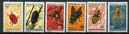 Tchad, Yvert 291/296, Scott 295/300,  MNH - Tchad (1960-...)