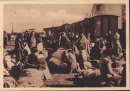 CPA 66 Gare Du Boulou Réfugiés Dans L'attente Du Convoi Qui Va Les Amener à L'intérieur Guerre D' Espagne Retirada - Autres Communes