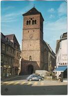 Saverne: RENAULT 4CV, CITROËN 2CV, TUBE HY - L'Eglise Paroissiale - (Bas-Rhin) - Toerisme