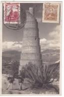 #Z.9503 Mexico, Postcard Mailed 1933 TCV: Los Remedios Aqueduct - Mexique