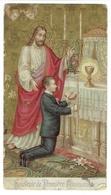 Tournai. Première Communion 20 Mai 1909. Oratoire Saint-Charles. Tournai . - Faire-part