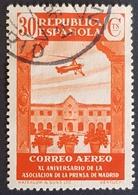 1936, The 40th Anniversary Of The Madrid Press Association, Republica Espanola, Spain, España - 1931-50 Gebraucht