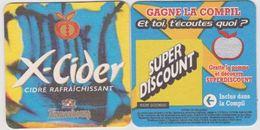 Sous Bock De Biere X-Cider   ; Brasserie  Kronenbourg - Sous-bocks