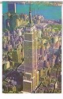 AERIAL VIEW OF EMPIRE  STATE  BUILDING   NEW YORK  CITY     TBE  US 338 - Empire State Building