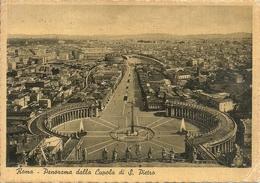 Città Del Vaticano, Panorama Di Roma Dalla Cupola Di San Pietro - Vaticano