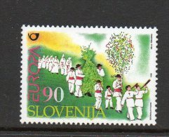 SLOVENIE N° 204 ** - EUROPA  FESTIVALS NATIONAUX - Cote 3.60 € - 1998
