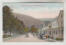 CPA SHANDAKEN (Etats Unis-New York) - PHOENICIA : Main Street Castkill Mountains - NY - New York