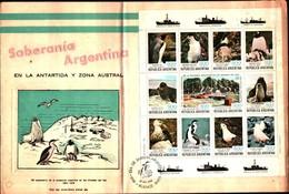 91687) ARGENTINA FDC DEL 1980 PINGUINI/Birds/Guarnizione/ANTARTICO/Animali/NATURA/animali Selva... - FDC