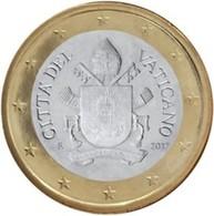 Vatikaanstad 2019   1 Euro   Met De Afbeelding WAPENSCHILD !!  Zeer Zeldzaam - Extréme Rare !!!! - Vatican